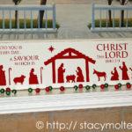 Mod Podge DIY Nativity Art