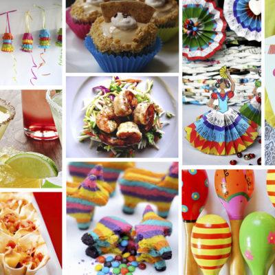 Cinco de Mayo Party Recipes, DIY Decor Ideas and Free Printables