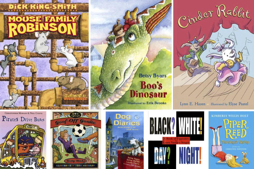 30 Short Chapter Books for Pre-K through Grade 3