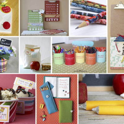 10 Awesome DIY Back to School Crafts