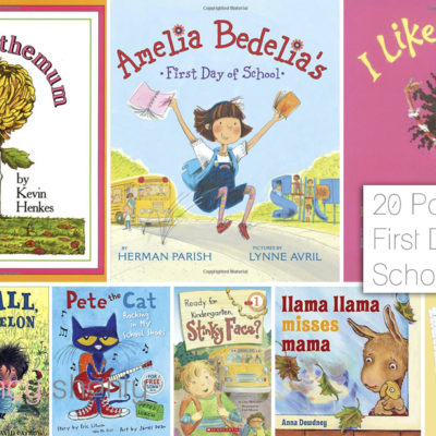 20 Popular First Day Of School Books
