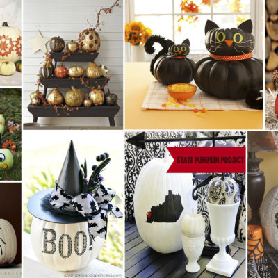10 Creative No-Carve Pumpkin Ideas