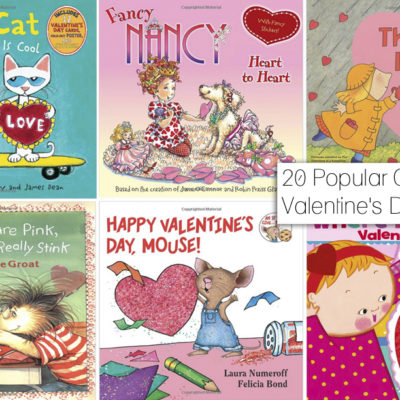 20 Popular Children's Valentine's Day Books