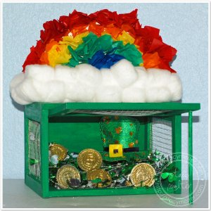 St. Patricks Day Kids Craft: DIY Leprechaun Trap