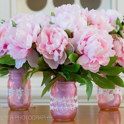 Mother's Day DIY Mason Jar Flower Bouquets