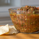 Sweet and Spicy Restaurant Style Salsa Recipe