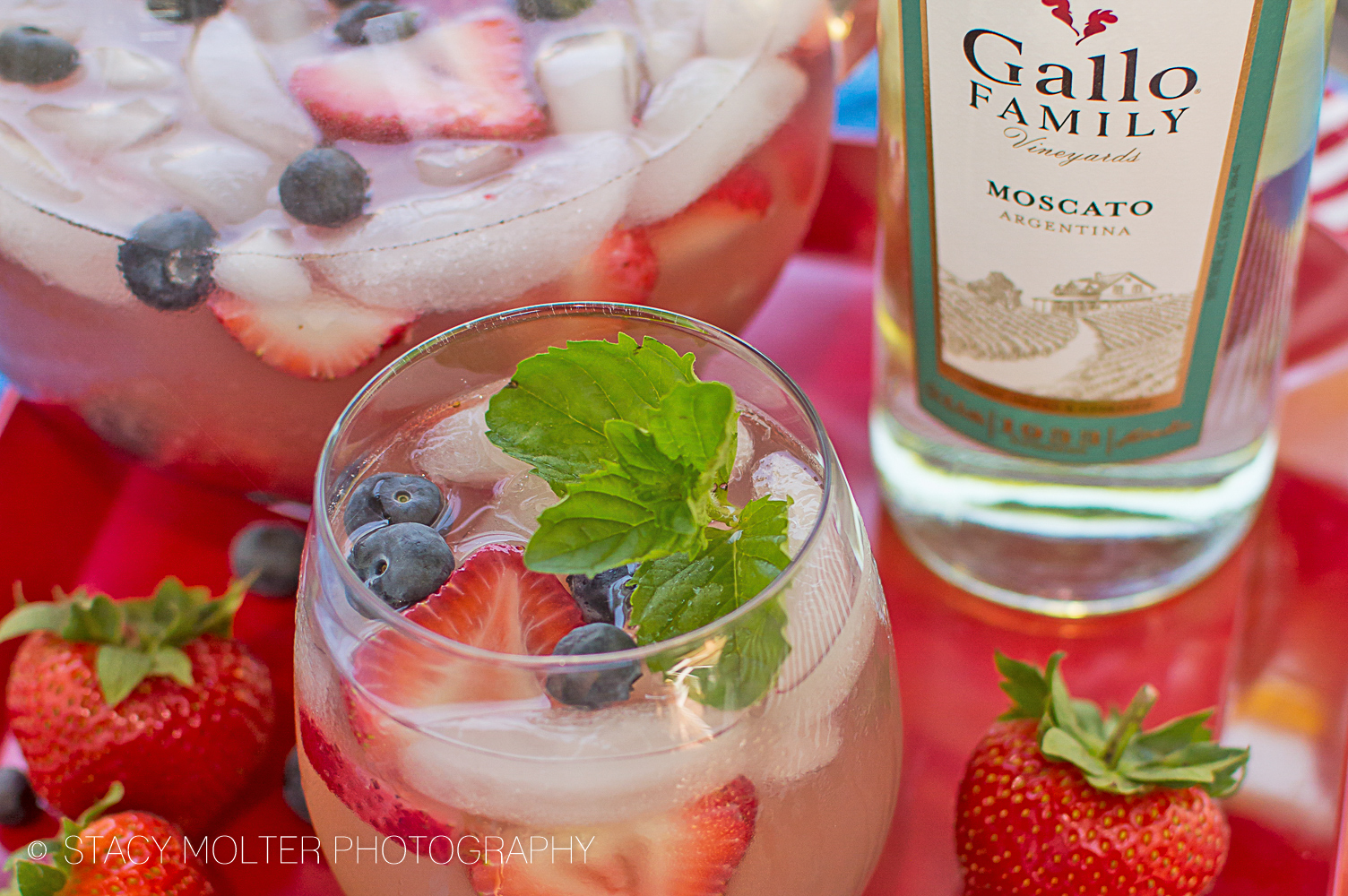 Berry Moscato Sangria Recipe