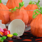 DIY Halloween Party Favors Pumpkin Craft