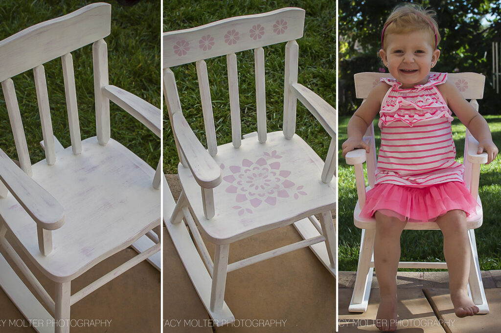 DIY Vintage Decor Chair #12MonthsOfMartha