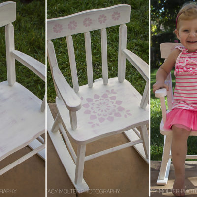 DIY Vintage Decor Chair