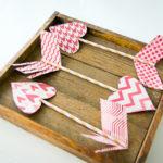 Valentine's Day Craft Ideas – Paper Arrows
