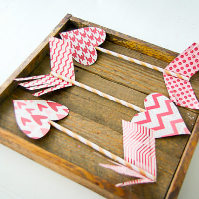 Valentine's Day Craft Ideas – Paper Arrows
