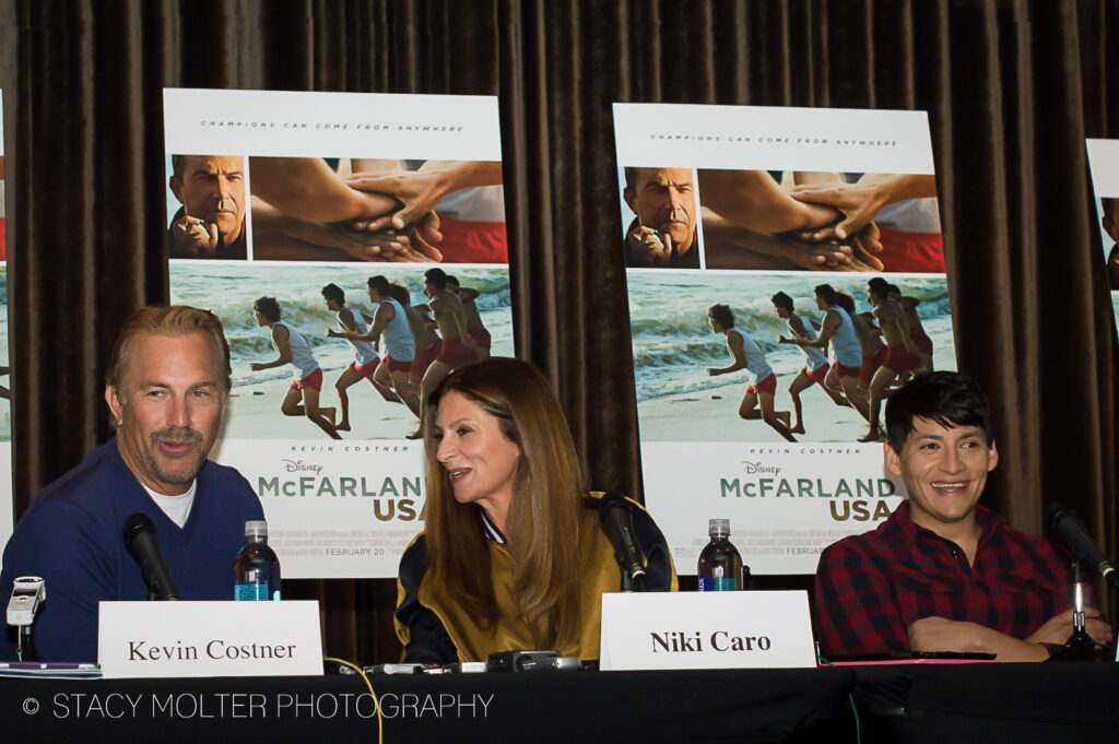 McFarland USA Press Conference Junket