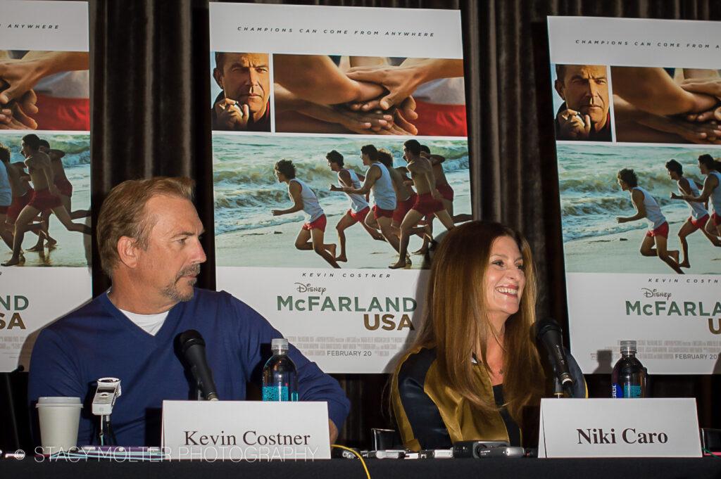 McFarland USA Press Conference Junket