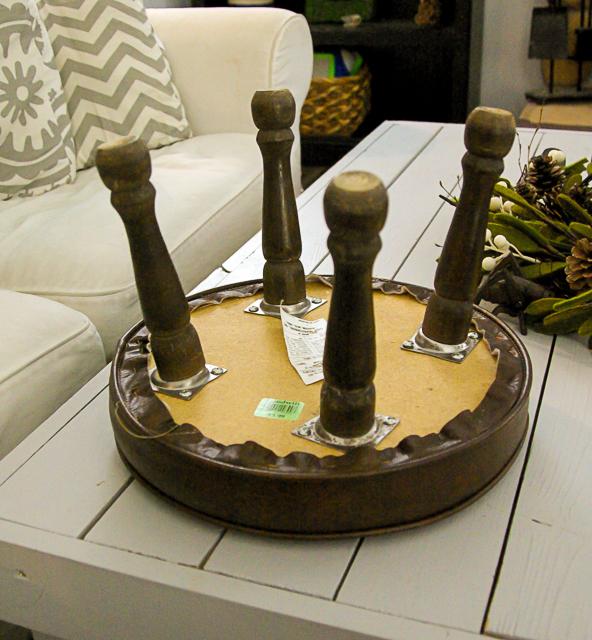 DIY Reupholster Stool
