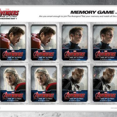 Free Printable Avengers Memory Game