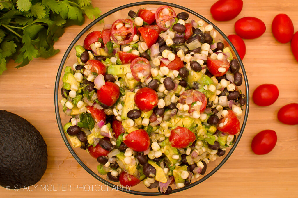 Mexican Corn Avocado Tomato Salad Recipe