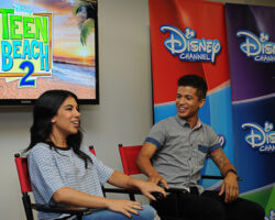 Teen Beach 2 Interview: Stars Chrissie Fit and Jordan Fisher