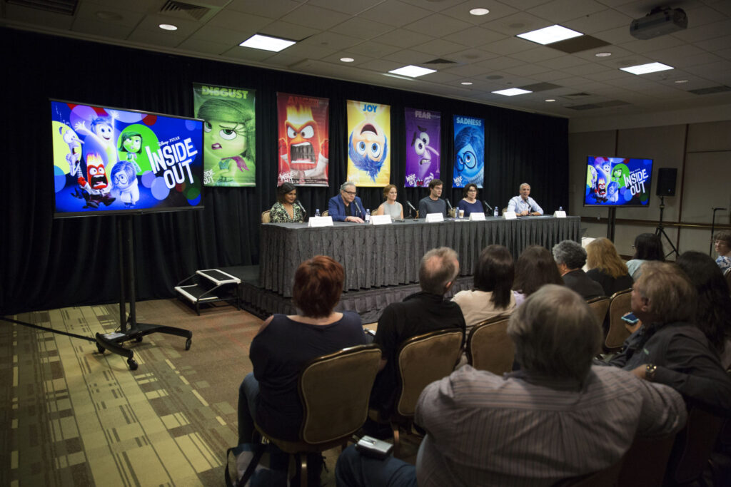 Disney Pixar Inside Out Press Conference