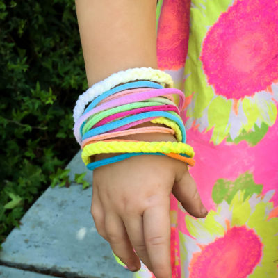 Tie-Dye Friendship Bracelet