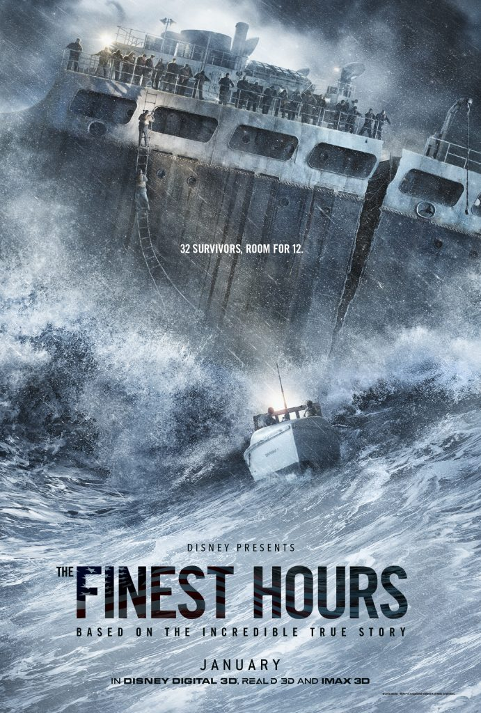 First Look at Disney's The Finest Hours Movie #TheFinestHours