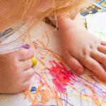 Buttermilk Chalk Art Kids Activity