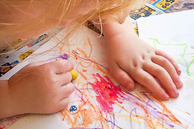 Buttermilk Chalk Art Kids Activity | Fancy Shanty Stacy Molter