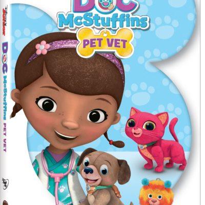 NEW Doc McStuffins Pet Vet DVD Coming in November