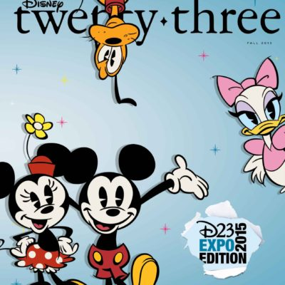 Fall Issue of D23 : Journey Through Toy Story's 20th Anniversary