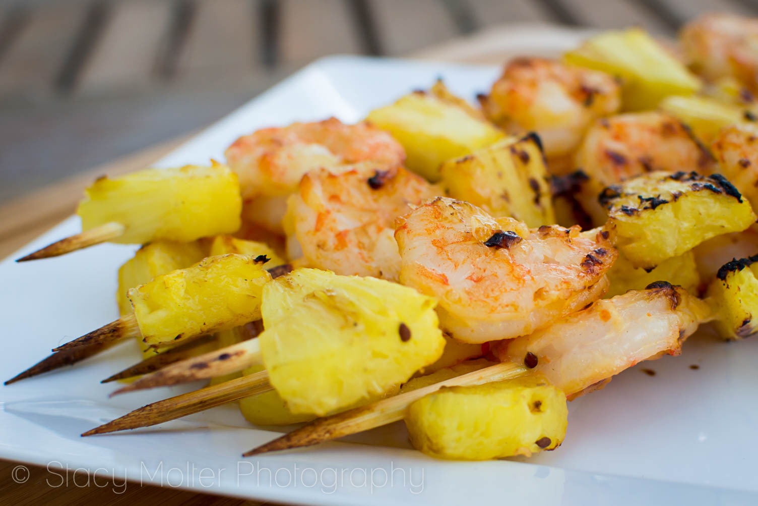 ... Chili and Coconut Pineapple Shrimp Skewers | Stacy • Fancy Shanty