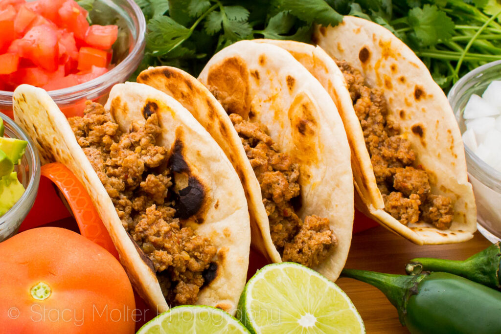 Garden Fresh Turkey Taco Recipe
