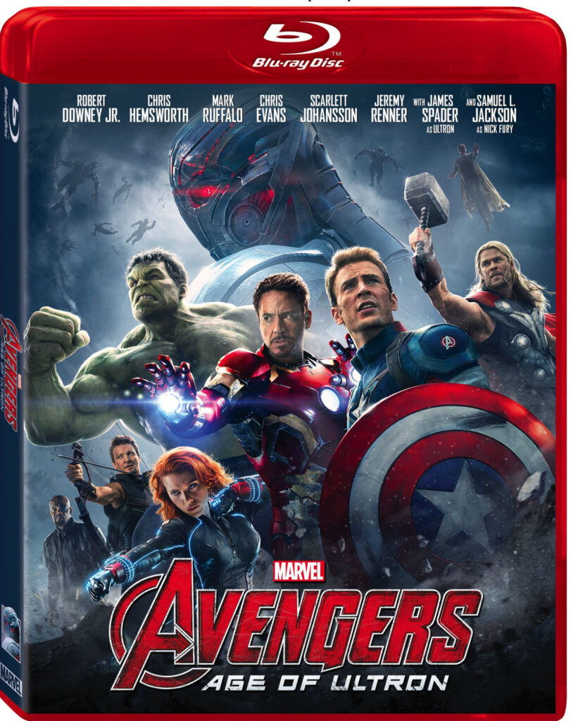MARVEL'S Avengers: Age of Ulton Available on Blu-Ray, DVD