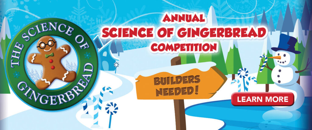 Science of Gingerbread: A Holiday Tradition Returns to Discovery Cube LA