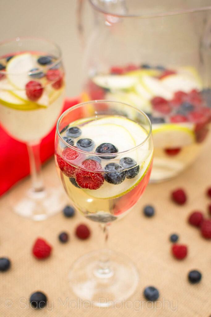 Sparkling Berry Wine Spritzer