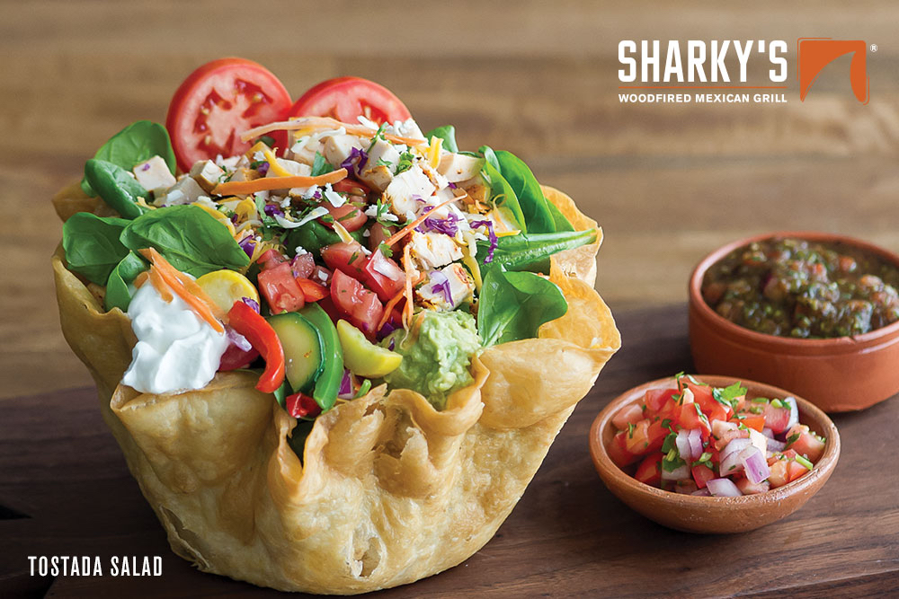 Give and Win this Holiday Season with Sharky's Woodfired Mexican Grill®