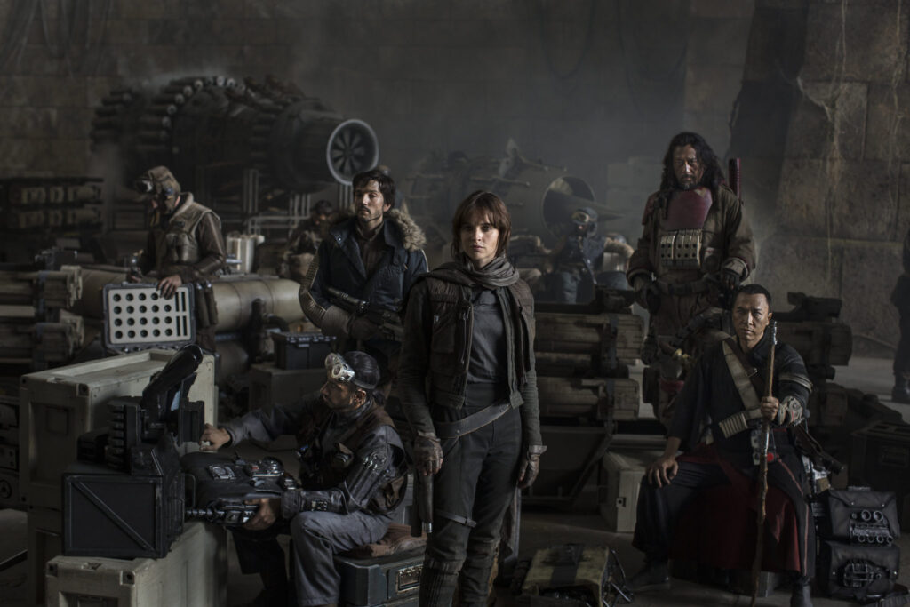 5 Rogue One Characters We Love