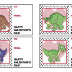 The Land Before Time Free Printable Dinosaur Valentine Cards