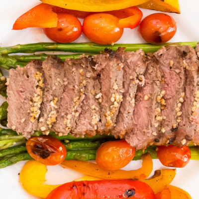 Broiled Steak with Asparagus – Cultivate California