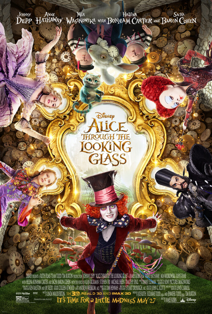 Free Alice Through The Looking Glass Posters and New Trailer