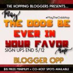 May the Odds Be Ever In Your Favor Giveaway Hop Sign Ups