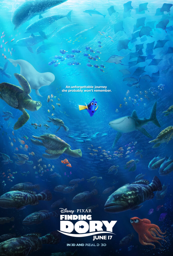 Finding Dory Review: Lessons from an Unforgettable Fish