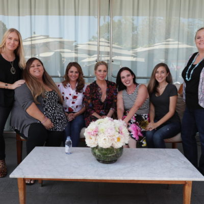 Talking Motherhood with Bad Moms Mila Kunis, Katherine Hahn, Christina Applegate, Annie Mumolo