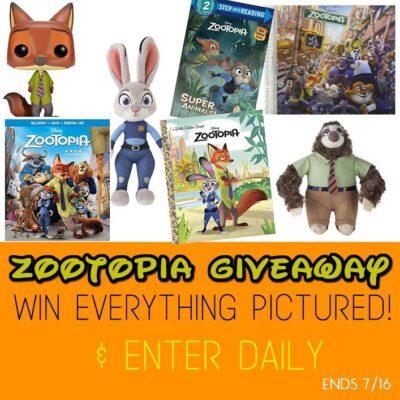 Zootopia Giveaway