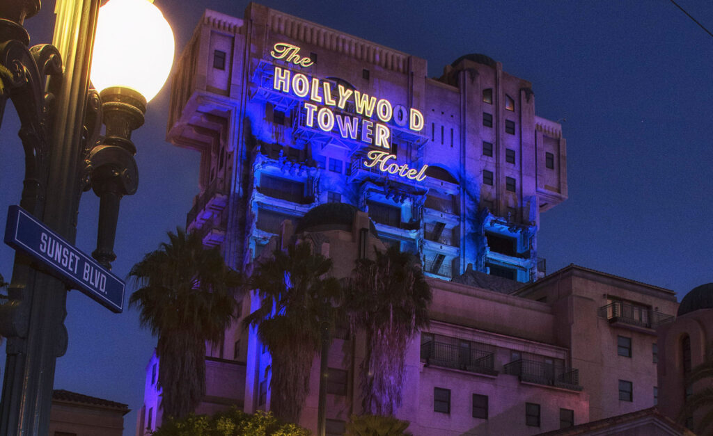 The Twilight Zone Tower of Terror Final Check-out Celebration at Disney California Adventure Park