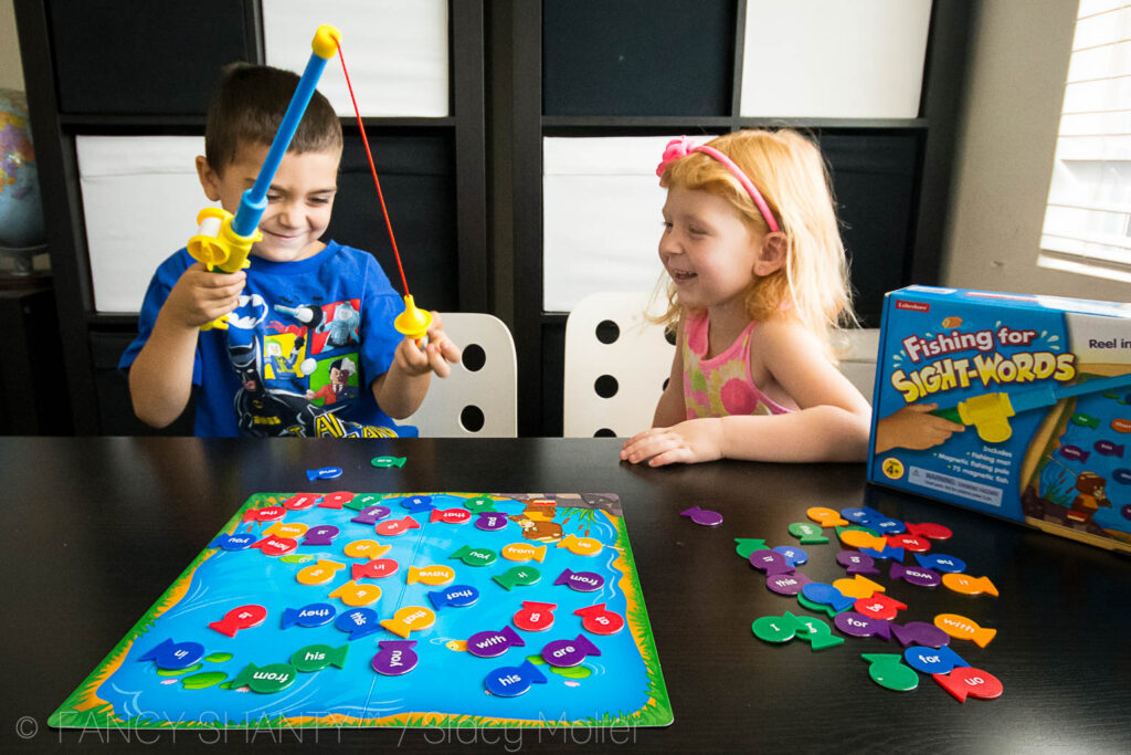 Fishing for Sight Words - Learning to Read through Play