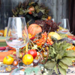 Easy Thanksgiving Tablescape Idea