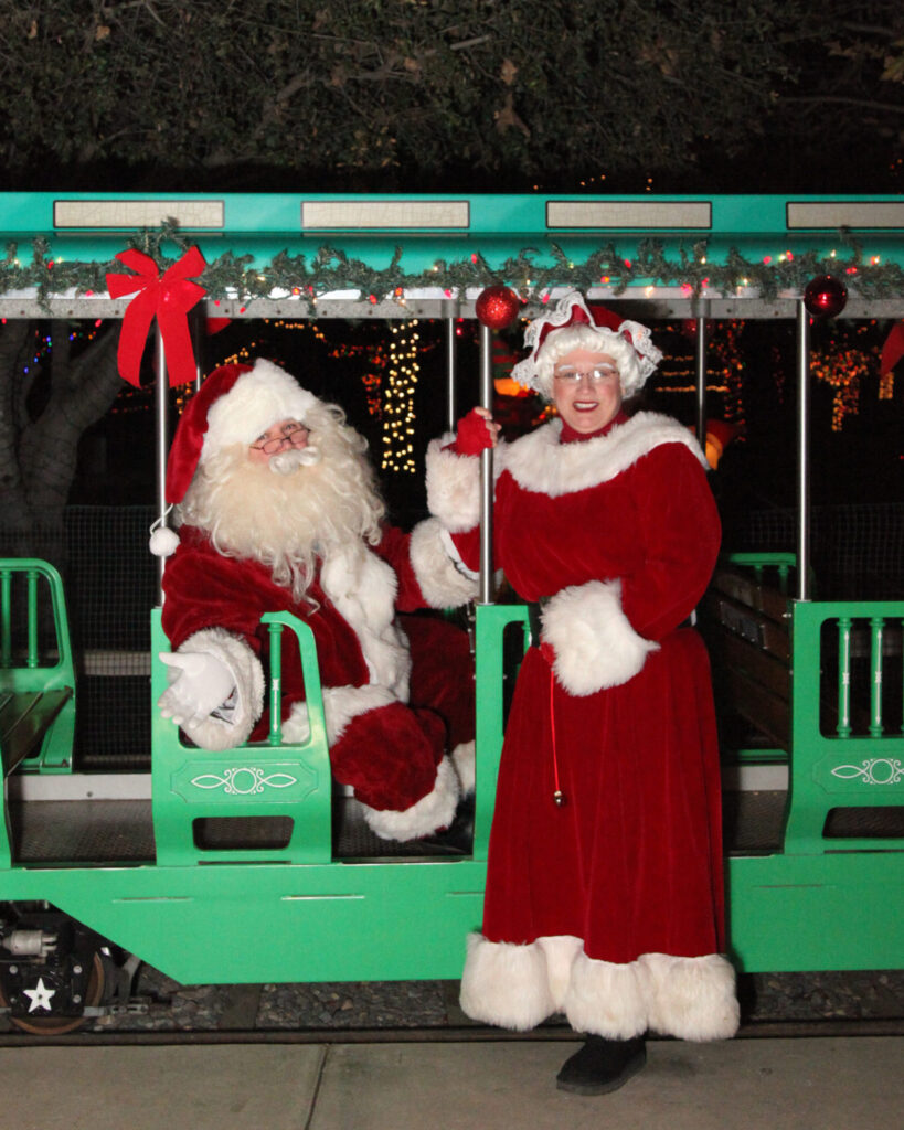 Irvine Park Railroad Christmas Train Giveaway