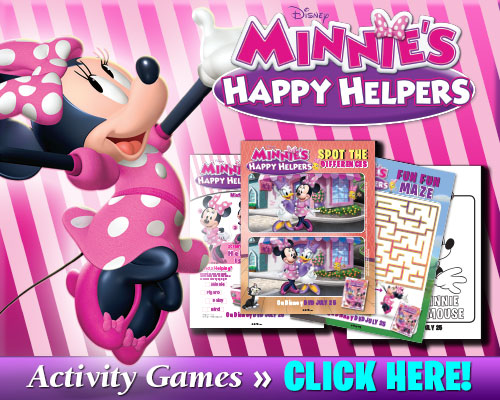 Minnie's Happy Helpers Activity Games