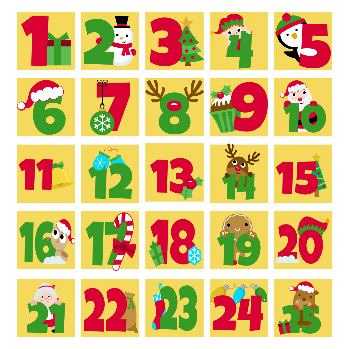 24 Days of Christmas Event 2016