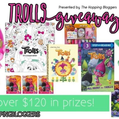 Dreamworks Trolls Movie Toys Giveaway